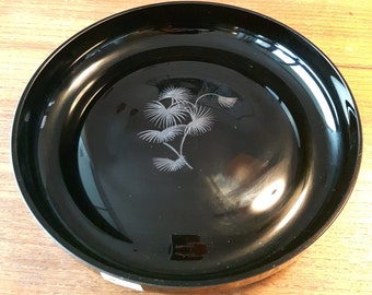 Glass dish bowl