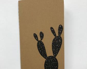 Hand drawn Cactus Moleskine Notebook