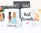 Best Friend Gift, Best Friend mug,Friendship gift, coffee mug, BFF gift, Gift for best friend, best friends coffee mug, bridal shower gift