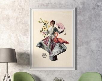 Post Queen of Hearts Alice in Wonderland Lewis Carroll
