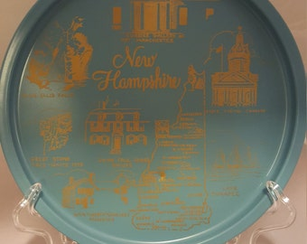 New Hampshire vintage souvenir tray.