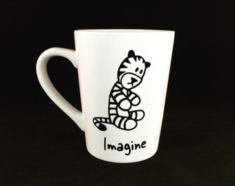 Hobbes Imagine Coffee Cup from Calvin and Hobbes