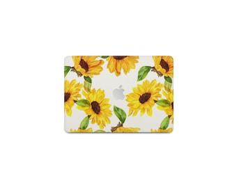 Sunflowers Macbook Case