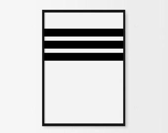 Minimalist Poster, Minimalist, Black and White Art, Scandinavian Art, Scandinavian Print, Line Art Print, Minimalist, Modern Print, Poster