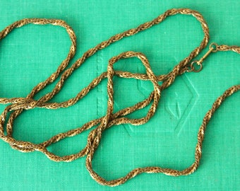 Vintage Miriam Haskell  Necklace Chain, Signed Miriam Haskell Chain, Necklace, Haskell