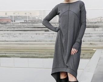 Asimmetrical Transformer dress