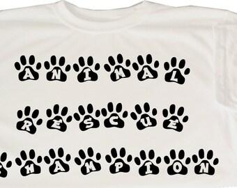 Animal Rescue Champion Shirt - Dog Rescue Shirt - Cat Rescue Shirt - Animal Rescue Shirt - Animal Rescue Gift - Rescue Champ-Dog Rescue Gift