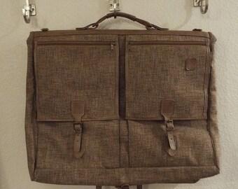 Vintage Hartmann tweed garment bag