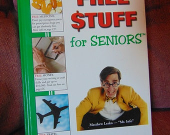 Free Stuff For Seniors   Matthew Lesko  1997   OOP