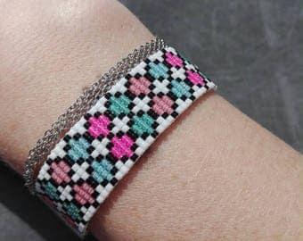 Miyuki beads woven bracelet