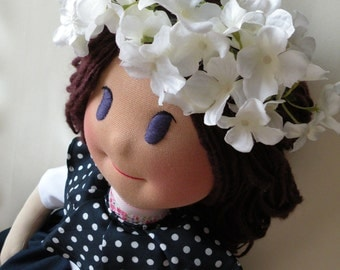 Liz by Malina Dolls - New Unique Handmade Doll
