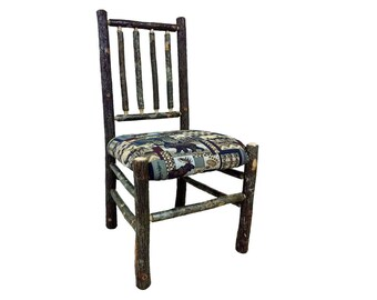 Hickory Moose Kitchen Chair with Slat Back