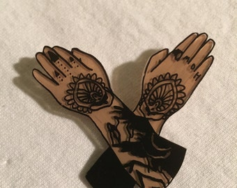 Laura Jane Grace Tattoos Pin
