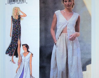 Style sewing pattern 2567 - button front dress, tunic and trousers - size 6-16