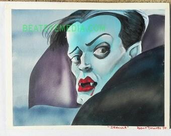 DRACULA,Original Art,COMICS,HORROR,monster,monsters,karloff,Horror,comic art,comic,comic book,Frankenstein,vampire,Lugosi,tattoo,Halloween