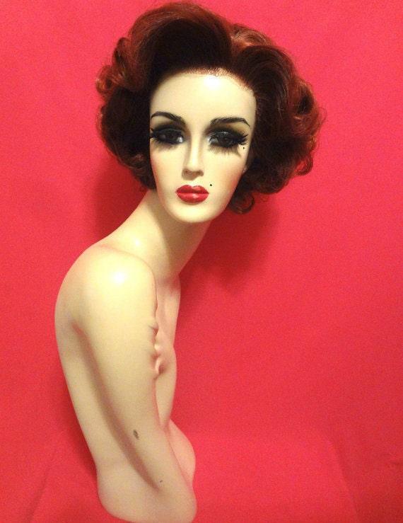 50s DEBBIE REYNOLDS Joan Crawford WIG Lace Front Custom