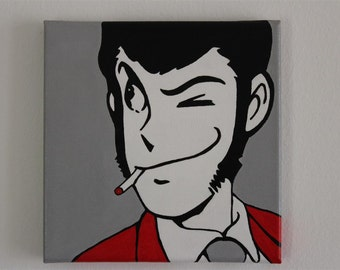 Lupin, quadro POP ART