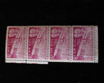 1949 U.S. 6c Wright Brothers Airmail