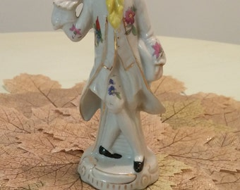 French Porcelain Dandy Figurine