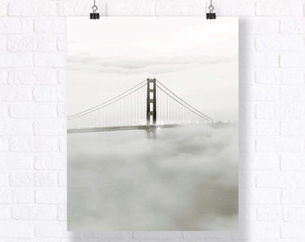 Golden Gate Bridge - Gorgeous poster suitable for any wall. Can be combined with a neat typography print or any other photo print.