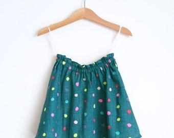 Girls Skirt Dots, Polka Dot Skirt Baby, Baby Girl Skirt Colorful, Girls Skirt Bright, Girls Skirt Twirl, Toddler Twirly Skirt,