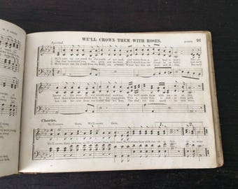 1884 Sheet Music Book / Silver Carols  New Silver Carols, with J. H. Leslie & W.A. Ogden  (Toledo, Ohio: W. W. Whitney, 1884)