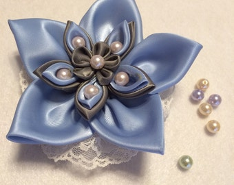 Ponytail holder Kanzashi