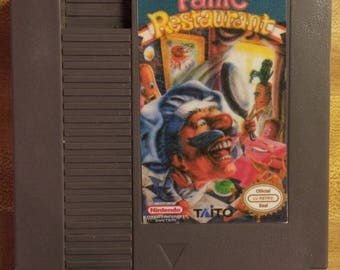 Panic Restaurant NES Repro
