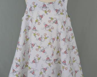Girl's sundress,Girl's summer dress,Summer swing dress