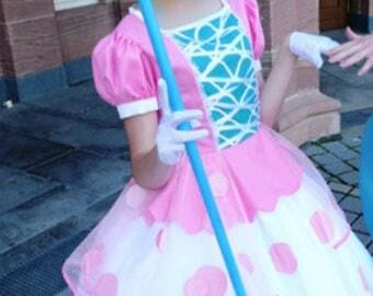 Bo Peep Dress Toy Story Pixar Cosplay Costume Disney
