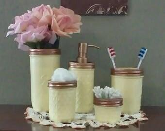 Bath/Vanity Set, Mellow Yellow
