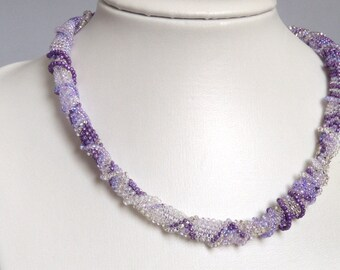 Grape Twist necklace