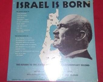 "Israel Is Born-""The Return Of The Jewish Homeland""-(12""LP)(Mint/Sealed)"