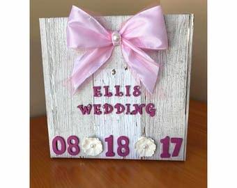 Personalized Memory Box - Wedding - Keepsake Box