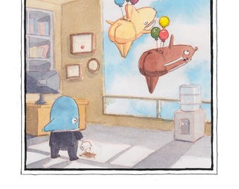 """Spongemeat Comics: """"Window 2"""""""