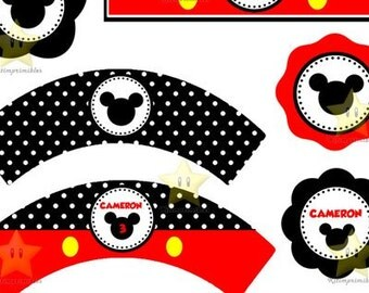 Kit printable Mickey Mouse party