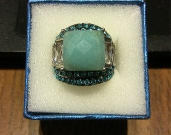 Russian Amazonite Ring