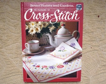 Cross Stitch Book - Vintage How To - Better Homes and Garden - Hard Copy