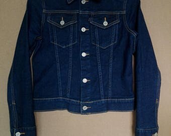 Juicy Couture Vintage Stretchable Denim Jacket/used