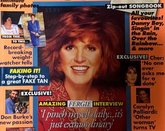 The Australian Women's Weekly Vintage Magazine, November 1991