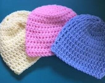 Hand Crocheted Baby Beanie