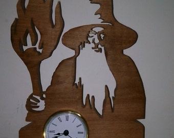 Gandalf clock