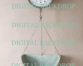 Digitaler Hintergrund Digital Background Backdrop Newborn Photography Fotografie Vintage Scale