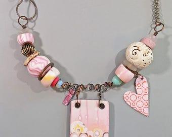Happy Heart Necklace