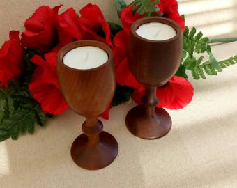 Candle light is so relaxing , goblet tealight holders romantic night in ? cosy evening, lovely gift for a special occasion