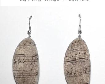 Musical Note Earrings