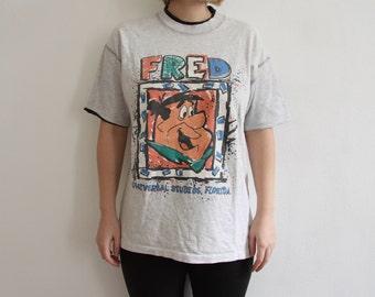 Vintage Fred Firestone Shirt