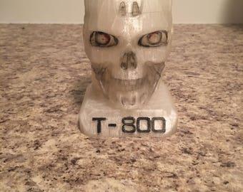 Terminator T-800 skull UNPAINTED