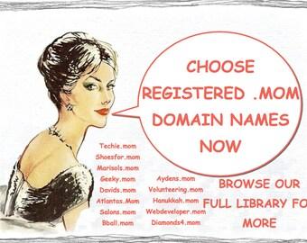 Get your .MOM Domain Name Today--Choose a Premium Domain with 1 Year Renewal Now and Bonus Premium Wordpress Theme