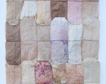 Teabag Quilt (9.25 x 13.25 inches)